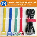 Serre-câble dos à dos en nylon auto-bloqueur coloré de Velcro de Hook&Loop