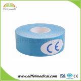 ベストセラーの綿の倍の側面の伸縮性があるKinesiologyのスポーツテープ