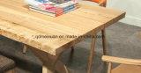 固体木のダイニングテーブルの居間の家具(M-X2413)