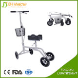 2017 Steerable muleta rodilla Walker Scooter con el apoyo de la pierna