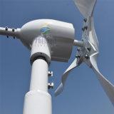 Sistema de vento de 600 W, 2m/s Arranque Baixa Velocidade do vento com 3 blades Conjunto completo com MPPT Controlador Híbrido e inversor de 1000 W