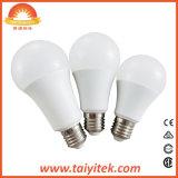 Aprovado pela CE de plástico de alta qualidade da luz da lâmpada LED de alumínio