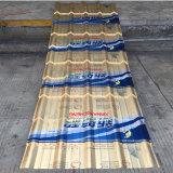 Materiale resistente ondulato variopinto del Parete-Rivestimento dell'alcali e dell'acido