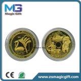 Pièce de monnaie de cadeau de souvenir personnalisée par qualité en métal
