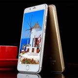 """Мобильный телефон двойной SIM оптовой цены 6.0 """" карточки Qhd 3G Smartphone клетчатый"""