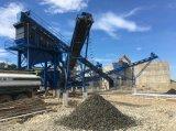 Kies 150-350tph/Fluss-Steinzerquetschenpflanze und Sand, die Produktionszweig bildet