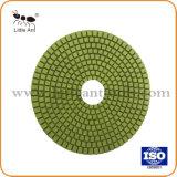 150mm Égrainage humide polissage de diamants des plaquettes pour plancher en béton de marbre