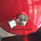 Equipo colgante caliente del extinguidor de la venta 10L40L Heptafluoropropane (hfc227ea) del mercado con la bola de cristal