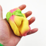 Riesiger Pfirsich Kawaii weicher Typ PU-sahniges langsames steigendes Squishy Spielzeug