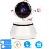 Câmera sem fio do IP de WiFi PTZ da segurança do CCTV de HD mini IR para a venda por atacado