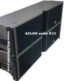Duplo sistema de coluna linear exterior de 15 polegadas, Saída de alto-falante de áudio de Matriz de Linha PRO