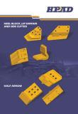 Vorbildliche Exkavator-Wanne Sidecutter 205-70-74190 KOMATSU-PC200