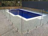 8-12mm AS/NZS2208로 검술하는 명확한 강화 유리 수영풀