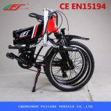 Fujiang que dobra a bicicleta elétrica com Accessoires opcional