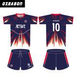 Großhandelssublimation-kundenspezifische preiswerte RugbyJerseys/Rugby-Hemd-Entwurf