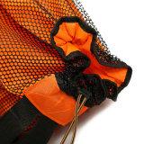 Saco impermeável Foldable do saco da ginástica de Gymsack do Drawstring dos esportes
