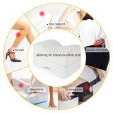 Het Hoofdkussen van het been met In te ademen Wasbare Dekking en het Ergonomische Ontwerp van de Steun