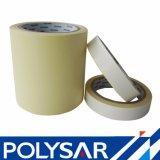 Funcionamiento de la cinta adhesiva del poliester diverso en ambos cara