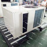 Zentrale Luft - - Luft verpacktes Dachspitze-industrielles Klimaanlagen-Kanalisierung-Gerät