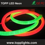 120 LED por luz de tira de neón caliente del blanco LED del contador