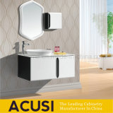 gabinetes de banheiro modernos de madeira personalizados parte alta e vaidade (ACS1-L22)