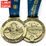 熱い販売亜鉛合金はダイカストの旧式なニュージーランドメダル習慣を