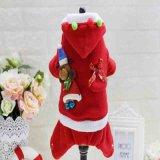 La mode faite sur commande conçoit les vêtements drôles confortables chauds de Noël de crabot