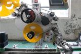 Machine à étiquettes de premier collant automatique sur le chapeau
