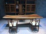Stevige Houten Koffietafel, de Bovenkant van de Eettafel van de Stoel, Lijst van het Restaurant van het Werk de Hoogste