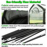 """温室によって環境に優しいガラス繊維のポーランド人渡される長すぎるカバーを6本の棒98 """" X49 """" X53の""""小型携帯用温室Esg10325現れなさい"""