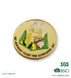 金属デザイン銀によってめっきされる記念品の挑戦習慣の硬貨