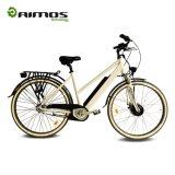 Bici eléctrica modificada para requisitos particulares OEM del mecanismo impulsor delantero interno de 8 velocidades 700c