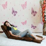 Base de sofá portable de la tela plegable moderna del estilo para la vida ocasional