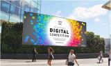 Digitaces que hacen publicidad de la pantalla de visualización al aire libre de LED P8