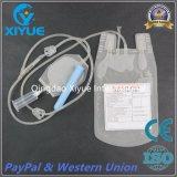 Bolsa de sangre individual desechables con protector de la aguja/tubo de recolección/bolsa de muestreo
