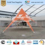 orange bekanntmachendes Zelt des Stern-10m mit kundenspezifischem Druck