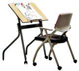 Mobilia semplice di asilo del tavolo da disegno dei capretti per l'aula (KF-46)