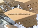 마루 또는 벽 클래딩을%s 자연적인 노란 황금 사암