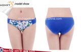 """Roupa interior """"sexy"""" da roupa interior das calcinhas da cuecas da impressão da flor das tangas das mulheres"""