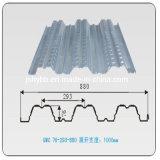 Hoja de techos de metal corrugado en China
