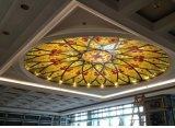 芸術のTiffanyのステンドグラスのドームの天井