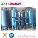 Filtro a sacco di pressione per il trattamento delle acque
