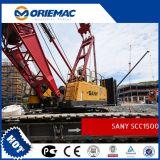 Sany grúa sobre orugas de 150 toneladas Scc1500d
