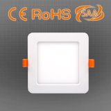 12W LED quadratisches LED Panel mit CCT-ändernder Funktion, 25000hrs