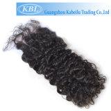 Toupee 4*4 de la fermeture des femmes normales de cheveux humains de 100%