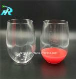 10oz de decoratieve Glazen van de Wijn van de Charme