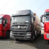 Camion di serbatoio del cemento alla rinfusa della polvere di Sinotruk HOWO 371HP 6X4