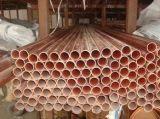 Tubulação de cobre vermelha sem emenda C12200&C11000&C12000