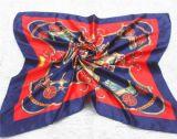 Мода Леди по индивидуальной печати шелковые шарфы