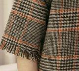 Señoras señoras dulce vestido de lana con cremallera